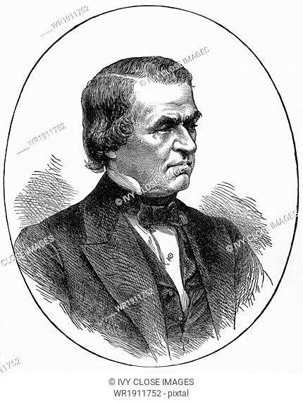 Andrew Johnson served as Abraham Lincoln's vice-president during Lincoln's second term as president of the United States