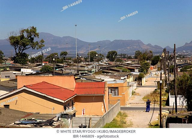 Nyanga township, Cape Town, Western Cape, South Africa, Africa