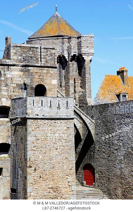 Castle, Saint-Malo, Brittany, France