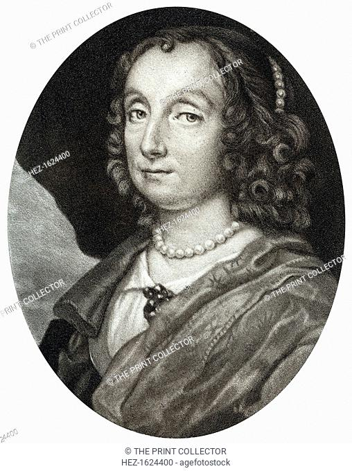 Elizabeth Cromwell, wife of Oliver Cromwell, 17th century, (1899). Portrait of the wife of Oliver Cromwell (1599-1658), English military leader and politician