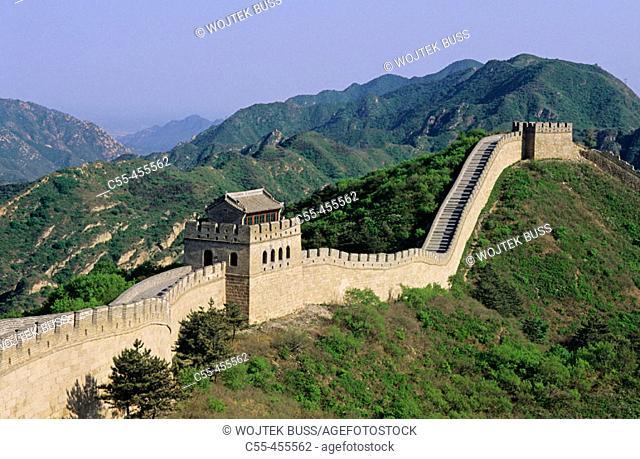 Great Wall. Badaling. China