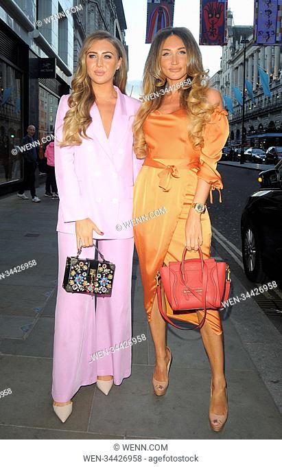 Celebrities attend Reign Nightclub Picadilly Featuring: Megan McKenna Where: London, United Kingdom When: 22 Jun 2018 Credit: WENN.com