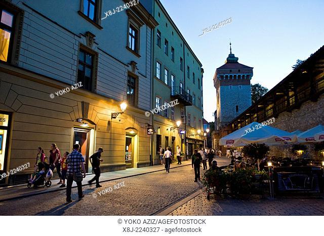 Poland, Krakow, old town