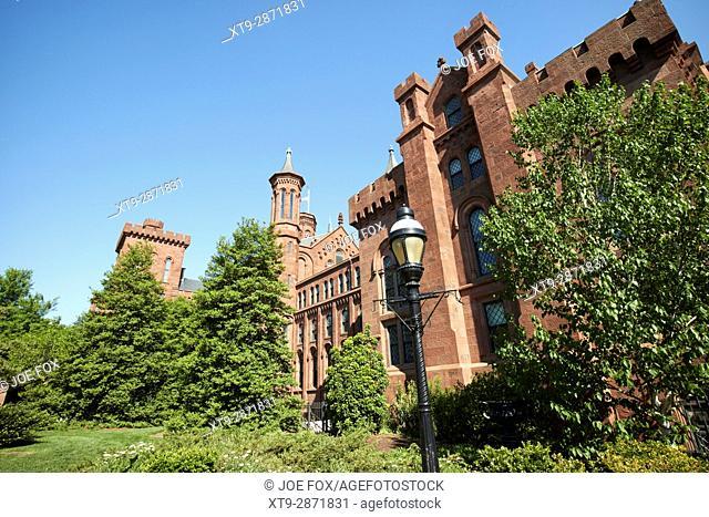 smithsonian institution building castle Washington DC USA