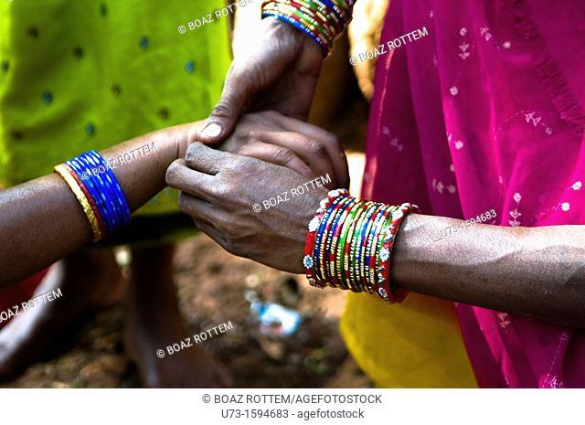 Friendship! women holding hands