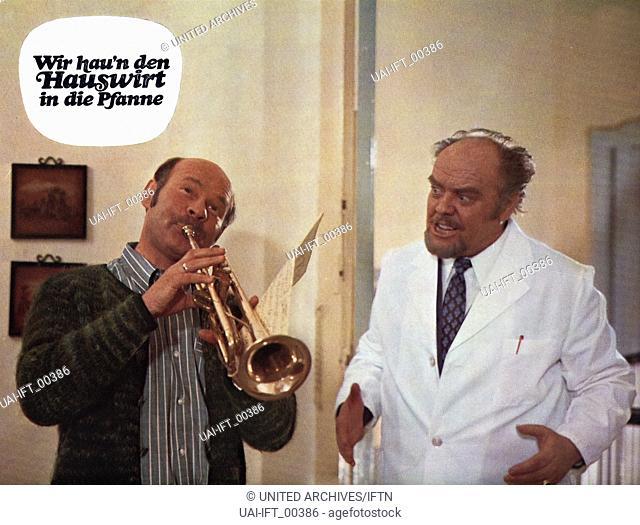 Wir hau'n den Hauswirt in die Pfanne, Deutschland 1971, Regie: Franz Josef Gottlieb, Darsteller: Fritz Tillmann, Ralf Wolter