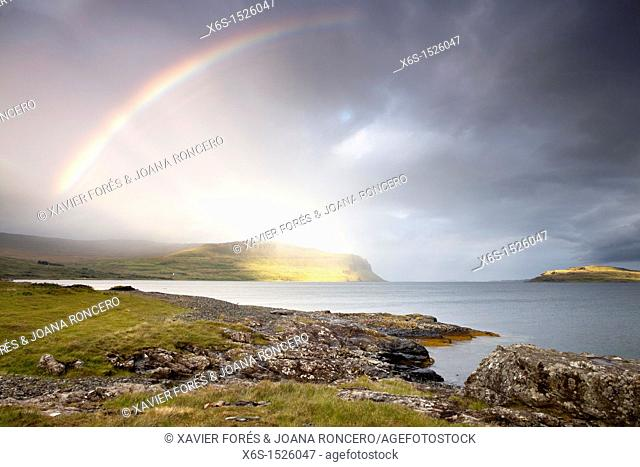 Coast of the Isle of Mull, Argyll and Bute, Scotland