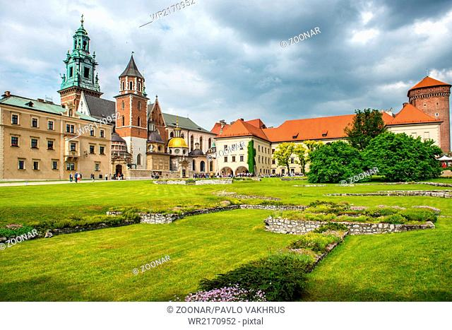 Wawel Cathedral in Krakow, Poland