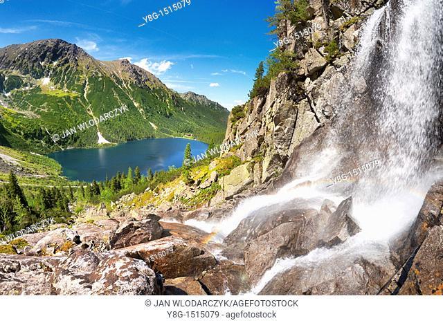 Czarnostawianska Stream, Tatra National Park, Poland, Europe