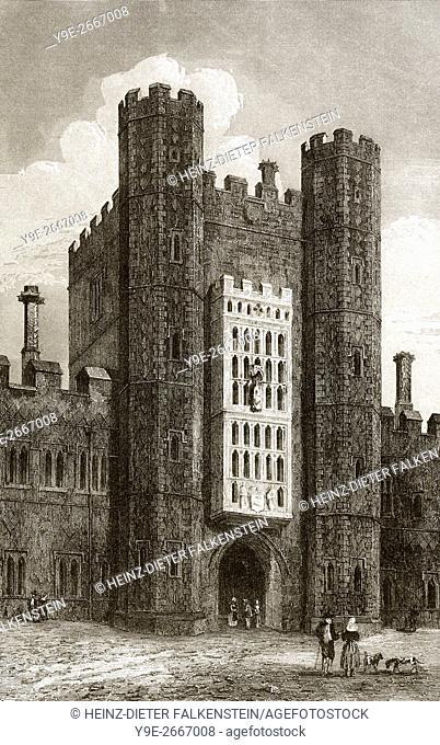 Eton College, an English boys' independent boarding school, Eton, Berkshire, England