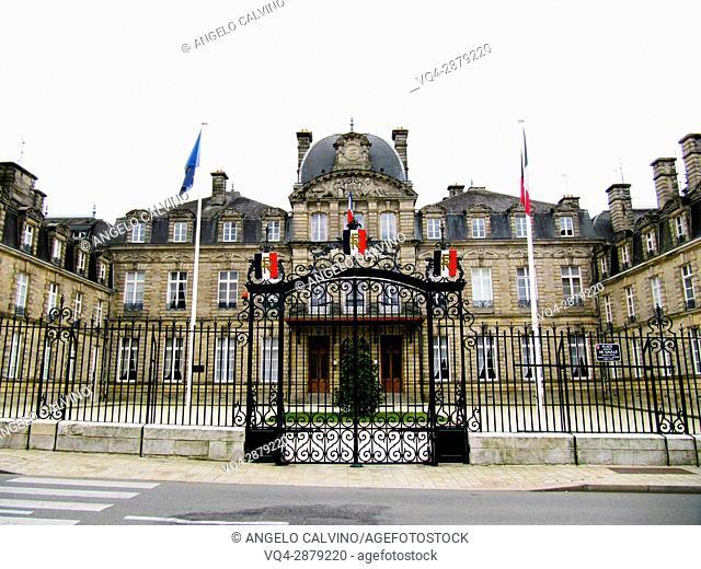 Morbihan Prefecture in Vannes, department of Morbihan, region of Brittany, France.
