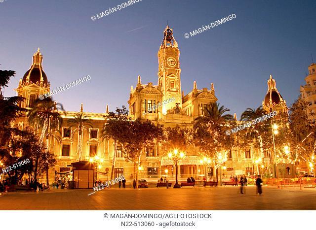 City Hall. Valencia. Spain