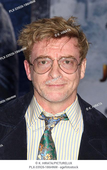 """Rhys Darby 12/09/2019 """"""""Jumanji: The Next Level"""""""" Premiere held at the TCL Chinese Theatre in Hollywood, CA. Photo by K. Hirata / HNW / PictureLux"""