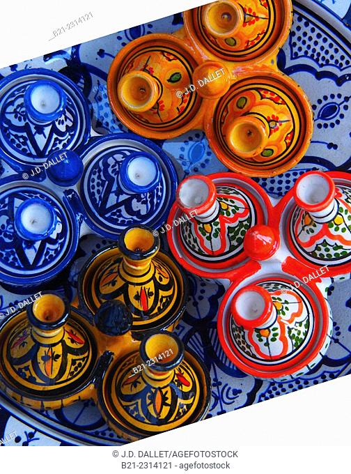 Handicraft, ceramics, Morocco
