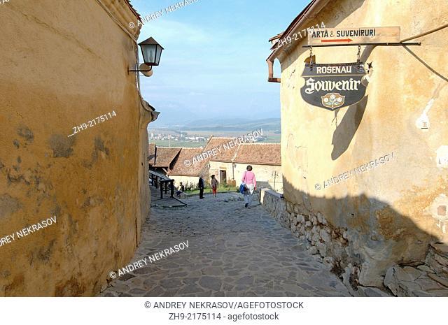The Rasnov Citadel, Brasov, Romania, Europe