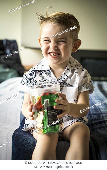 three year old boy