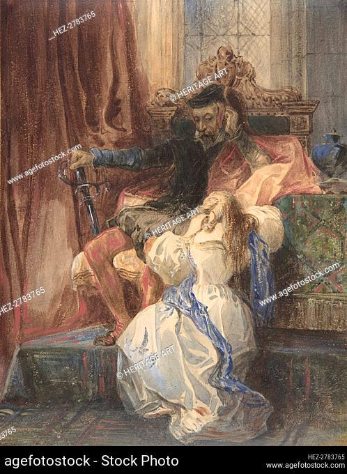 The Pardon Refused (from Sir Walter Scott's Kenilworth), ca. 1826-29. Creator: Camille Joseph Etienne Roqueplan