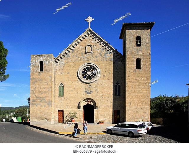 Church, Bolsena, Latium, Italy