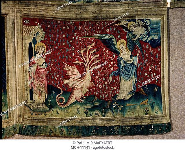 La Tenture de l'Apocalypse d'Angers, La femme reçoit des ailes 1,56 x 2,28m, die Frau erhält Flügel