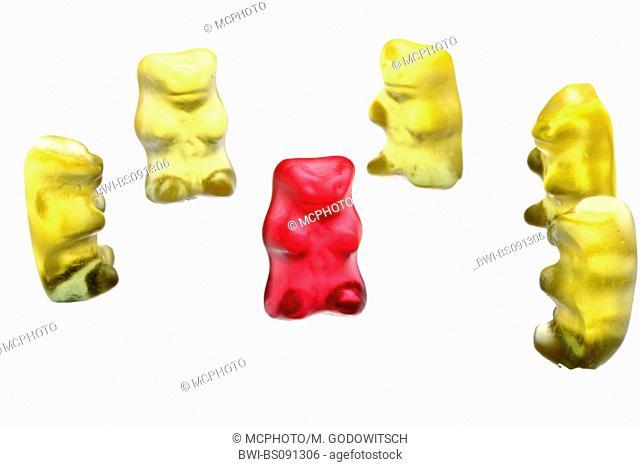 gummi bears, taking centre stage