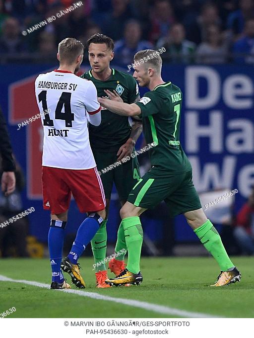 Werder Bremen Autogramm Aaron Hunt