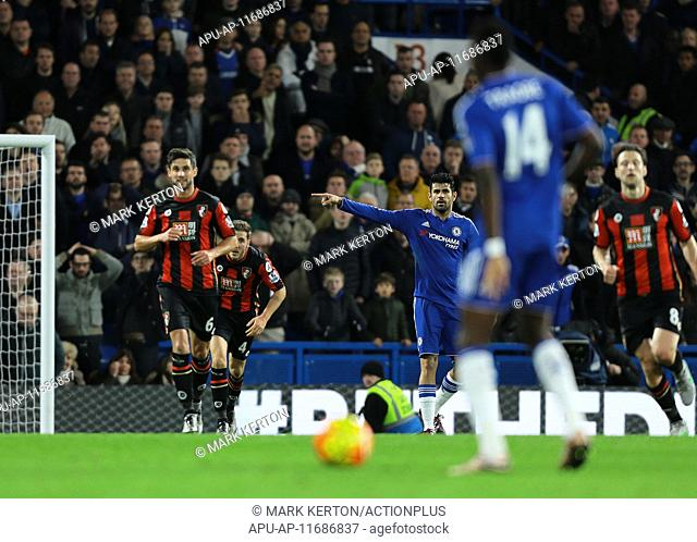 2015 Barclays Premier League Chelsea v AFC Bournemouth Dec 5th. 05.12.2015. Stamford Bridge, London, England. Barclays Premier League