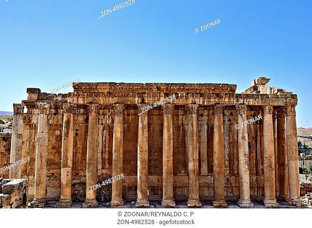 Temple of Bacchus - Baalbek, Lebanon