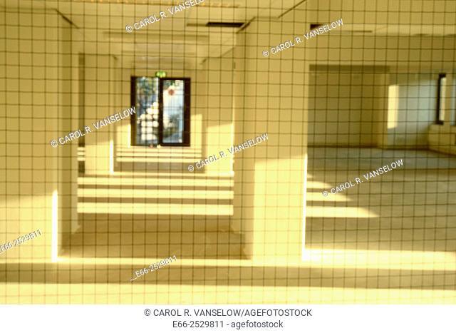 Empty office space in St Pieters neighbourhood of Maastricht