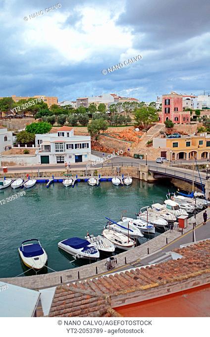 Port of Ciutadella, Menorca