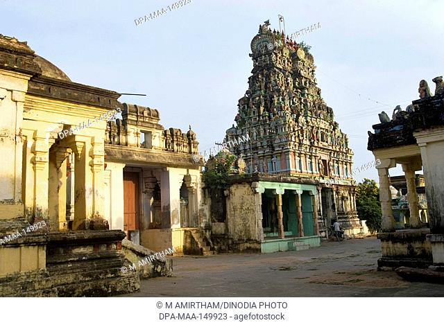 Shri Kayahorana Swami Neelayathatchi Amman temple built in 1305 AD ; Nagapattinam ; Chennai ; Tamil Nadu ; India