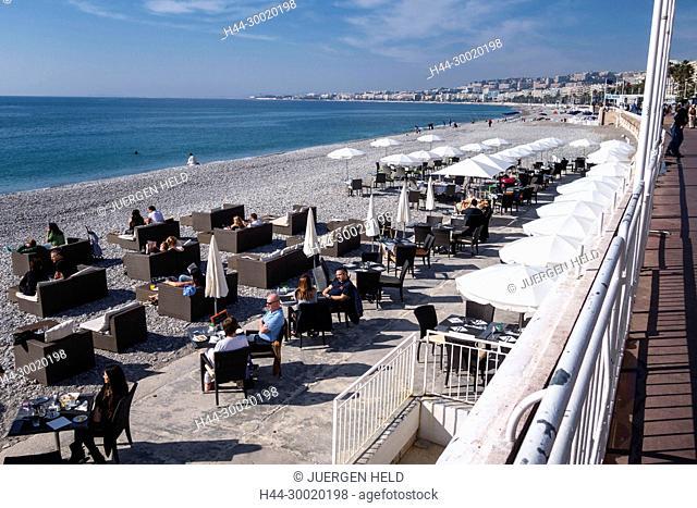 France, Provence, Côte d'Azur, Provence-Alpes-Côte d'Azur, Nizza, Promenade des Anglais