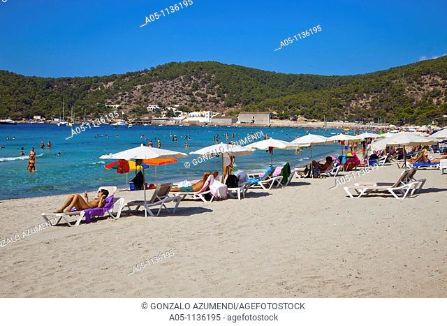 Ses Salines Beach. Sant Josep de Sa Talaia. Ibiza. Balearic Islands. Spain