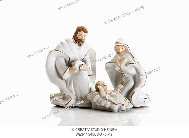 Christmas decoration, nativity scene, crib figurines