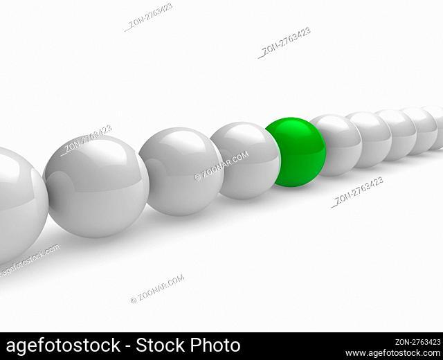 3d, ball, green, white, network, sphere, team