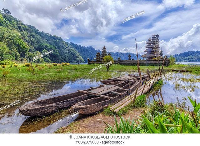 Pegubugan, Gubug Temple, Lake Tamblingan, Munduk village, Bali, Indonesia