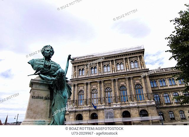 Beautiful art and architecture in Budapest, Hungary