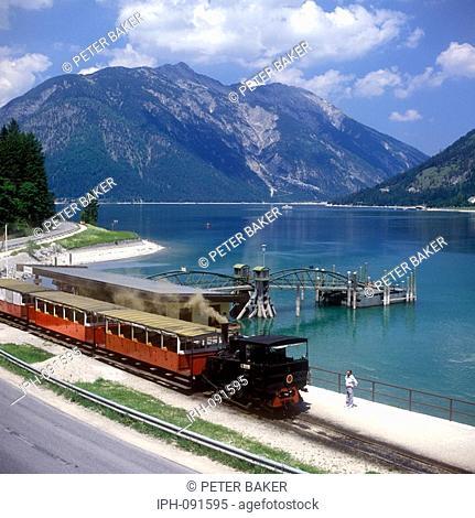 Achensee - Lake steamer and steam train