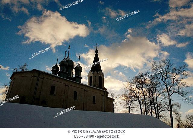 Orthodox church, Mielnik, Eastern Poland
