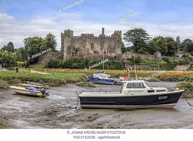 Laugharne Castle, Carmarthenshire, Wales, UK, Europe