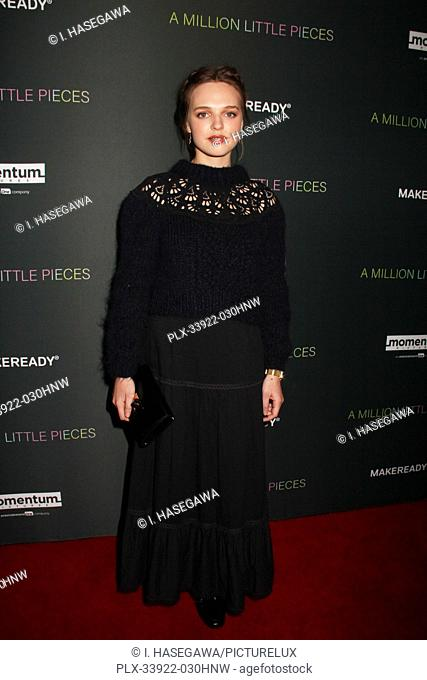 """Odessa Young 12/04/2019 The Los Angeles Special Screening of """"""""A Million Little Pieces"""""""" held at The London West Hollywood at Beverly Hills in West Hollywood"""