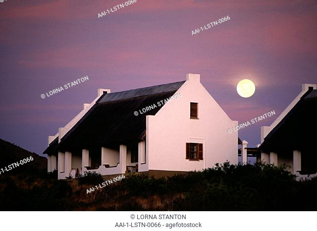 Typical Cape Dutch house, Karoo, South Africa