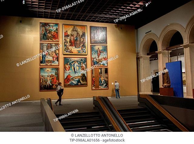Europe, Portugal, Lisbon, Estrela, National Museum of Ancient Art