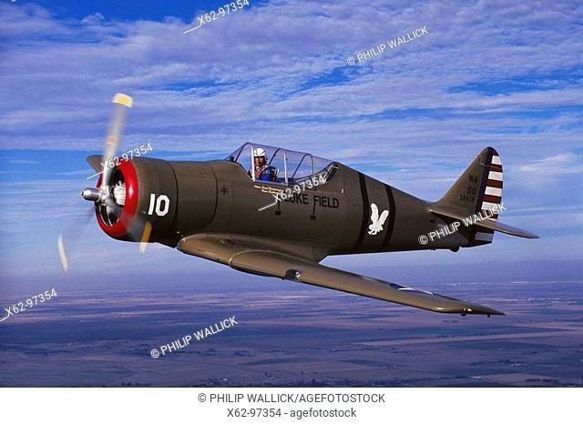 North American NA-50, 1940's U.S. fighter, restored