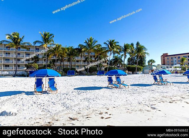 Beach, Fort Myers, Florida, USA, North America