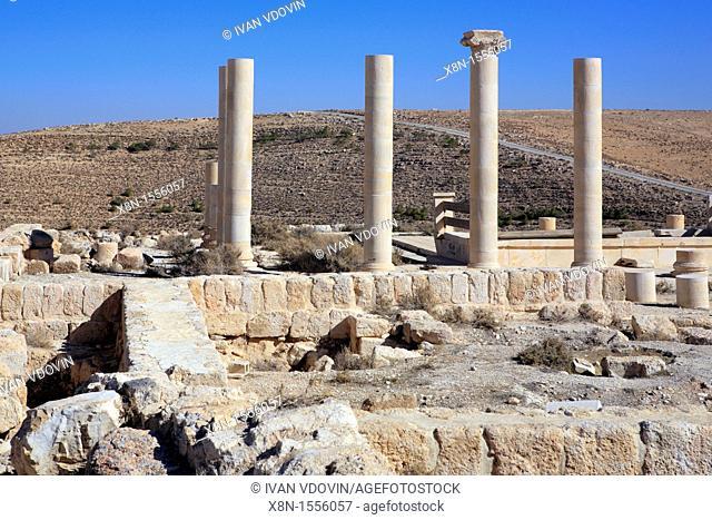 Fortress of Herodes the Great 1 century BC, Machaerus, near Madaba, Jordan