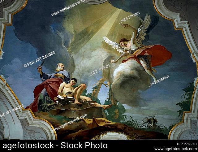The Sacrifice of Isaac, ca 1728. Creator: Tiepolo, Giambattista (1696-1770)