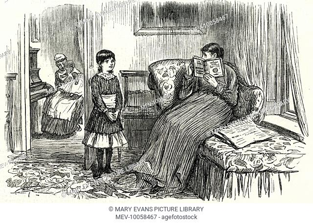 RICHARD WAGNER Mamma tells Mabel that she has heard enough Wagner for one morning; Mabel replies that she has not been playing the piano: it was nurse and baby