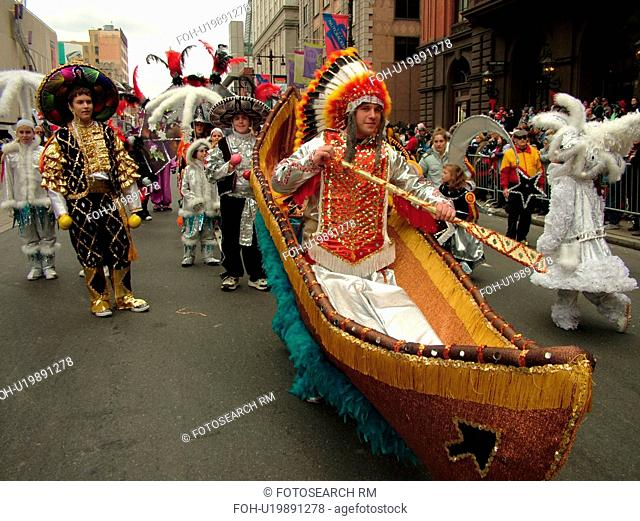 Philadelphia, PA, Pennsylvania, downtown, New Years Day, Philadelphia Annual Mummer's Day Parade, 2006, Fancy Division