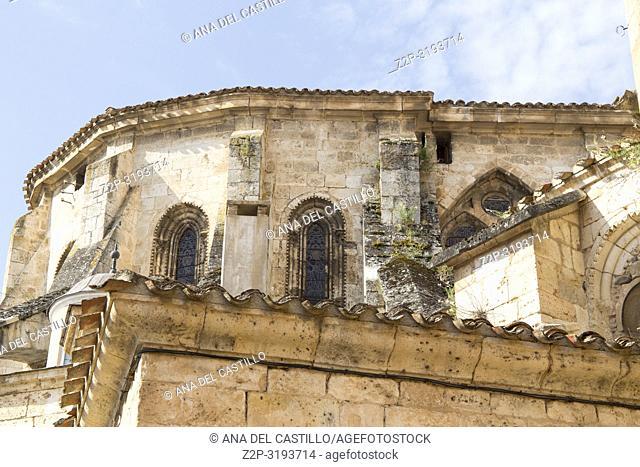 Cathedral in Burgo de Osma village Soria province Castile Leon Spain