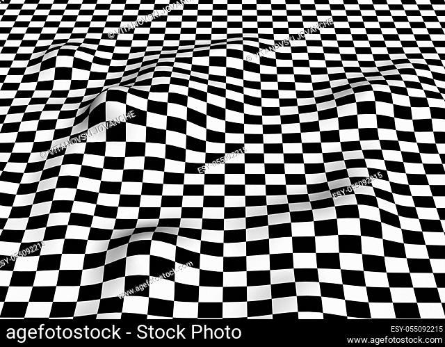 Black-white plane 1